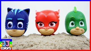 Learm Colors With Pj Masks Wong Head & Paw Patros Chocholate Dinosaur  Toys For Kids [Jj Colors]