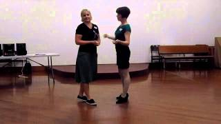 Beginners Blues Dance Lesson - Blues Waltz Serpentine and Turn (26/11/13)