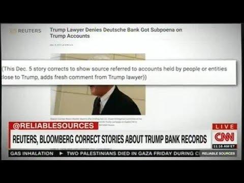 mornıng joe 12/10/17 Reuters .Bloomberg Correct Storıes About Trump Bank Records