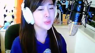 beautiful chinese girl singing beautiful song