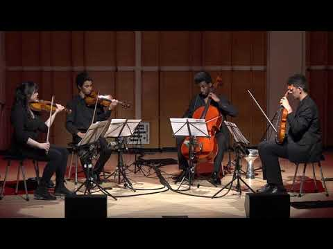 """Face the Music performs """"Amrit"""" by Kala Ramnath at Merkin Concert Hall"""