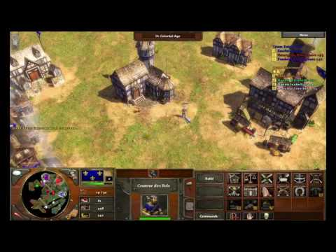 Age of Empires 3 Ep.2 EPIC Battles!! Strong defense for allies