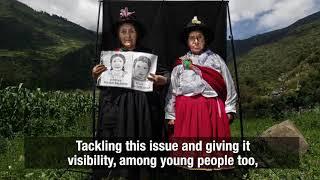 Humanitarian Visa d'Or awarded to Angela Ponce Romero