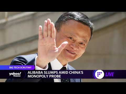 China launches antitrust probe into Alibaba