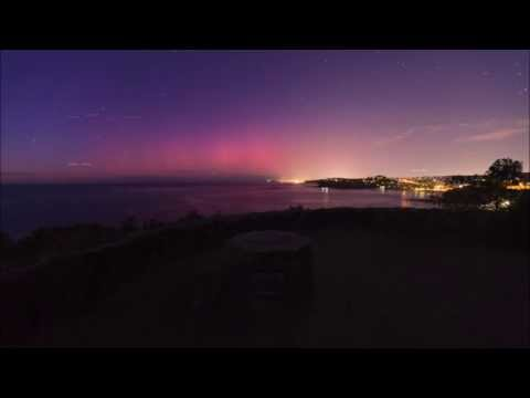 Aurora Australis over Sydney Northern Beaches 23.06.2015