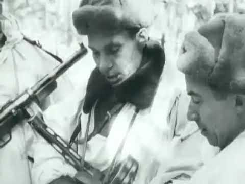 Воздушный десант -- Вяземская воздушно-десантная операция -- февраль 1942 -- кинохроника