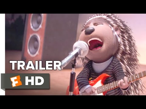 Sing TRAILER 1 2016  Scarlett Johansson, Matthew McConaughey Animated Movie HD