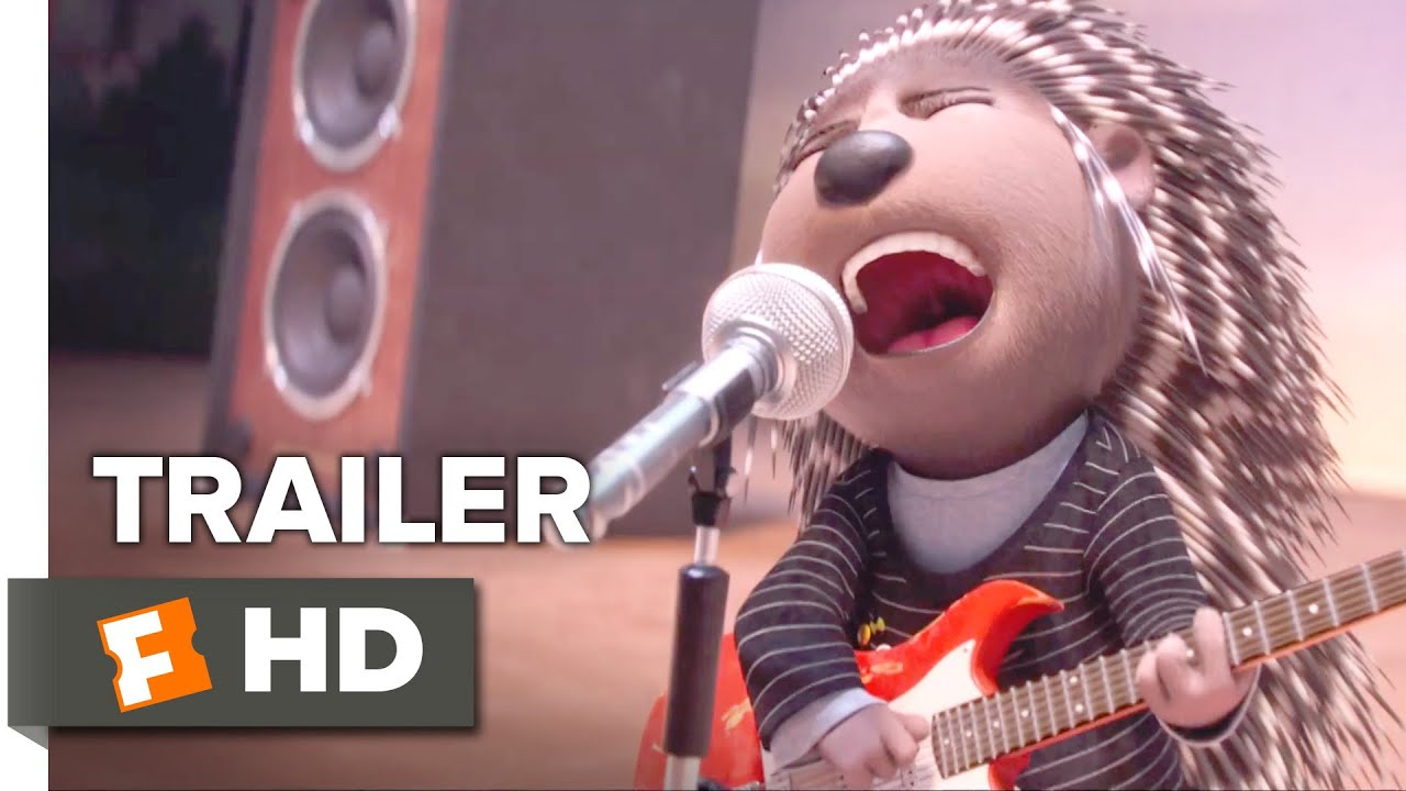 Sing TRAILER 1 2016  Scarlett Johansson Matthew McConaughey Animated Movie HD  YouTube