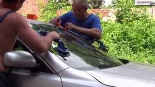 Замена лобового стекла Camry V40(, 2014-05-30T18:14:41.000Z)