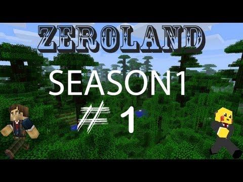 Περιπέτειες στoν Zeroland Season 1 Επεισόδιο 1:Αρχή με mine.