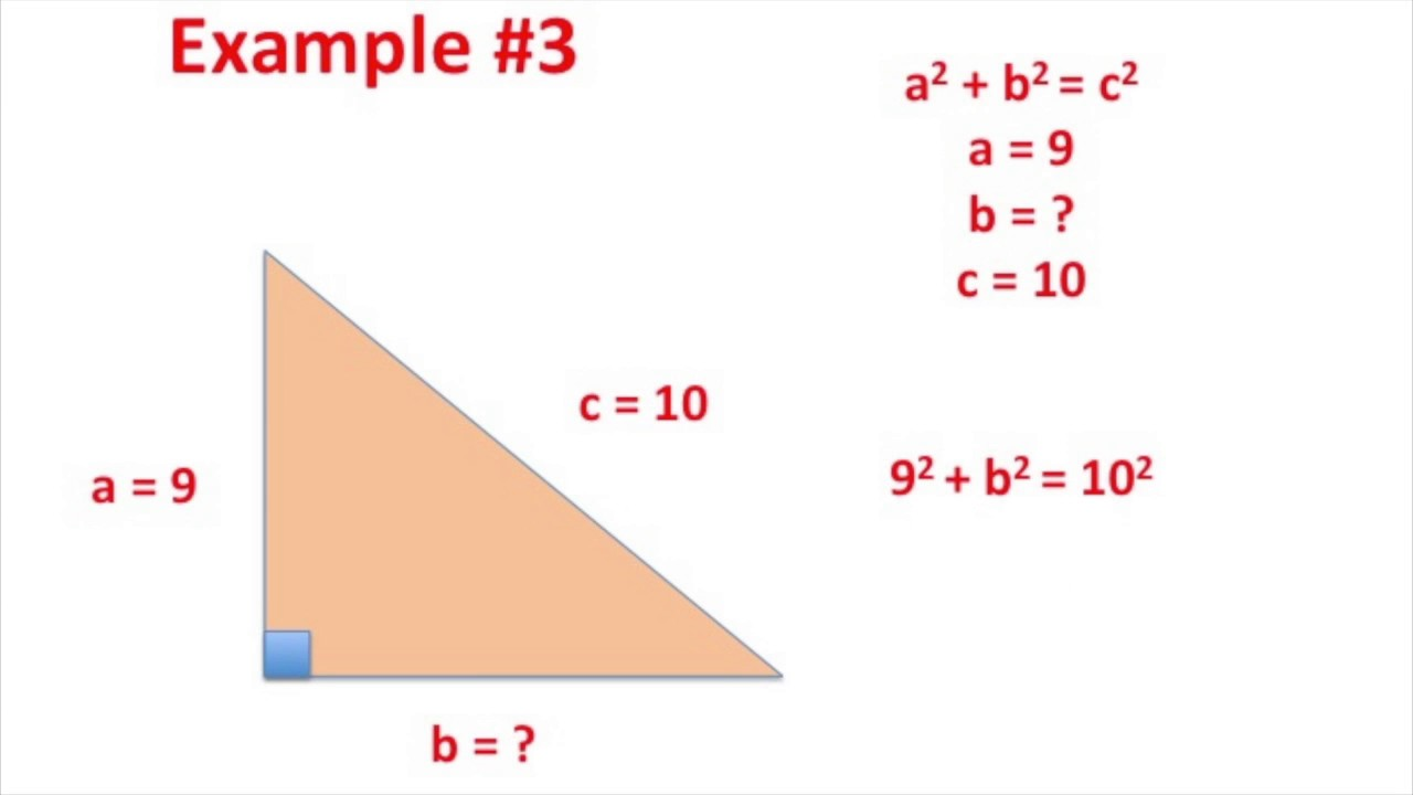 Solving Pythagorean Theorem Problems On The Ti 84 Youtube