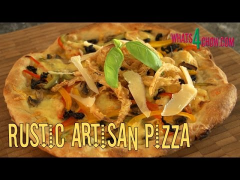 Rustic Gourmet Artisan Pizza How To Make A From Start End