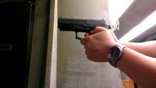 시그 SIG SAUER SP2022 권총 9mm 실탄사격 2
