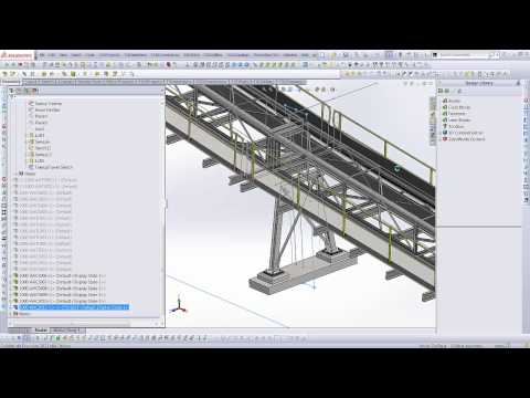 Mining - 3D Conveyor Model Automation