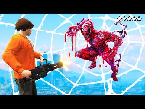 HUNTING CURSED SPIDERMAN in GTA 5 (GTA 5 Funny moments)