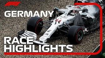 2019 German Grand Prix: Race Highlights