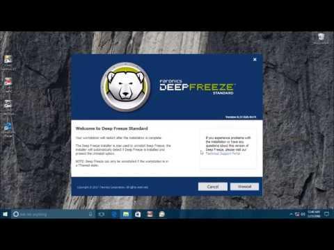 Cara Menghilangkan Deep Freeze 7 Lupa Password Baru