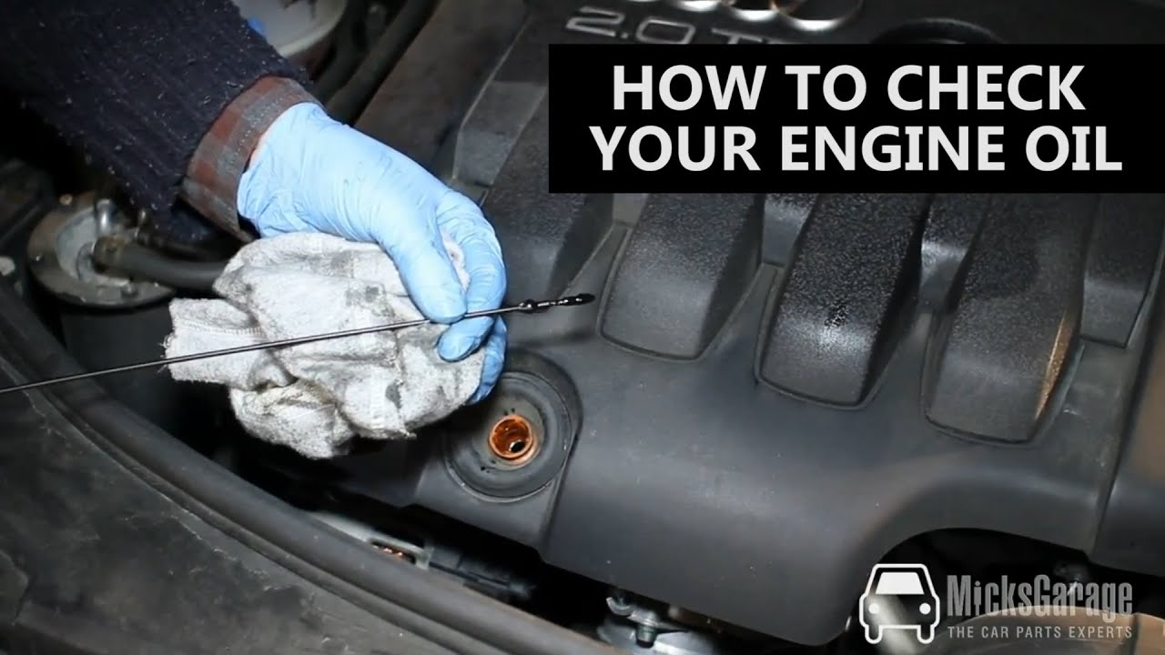 How To Check Your Engine Oil Youtube