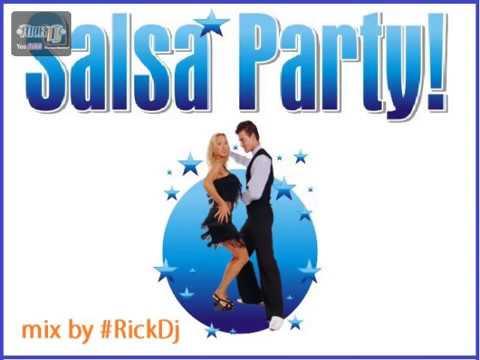 LA MEJOR SALSA PARA BAILAR SALSA PARTY mix by #RickDj ROMÁNTICA
