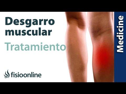 hinchazón después de desgarrar el músculo de la pantorrilla
