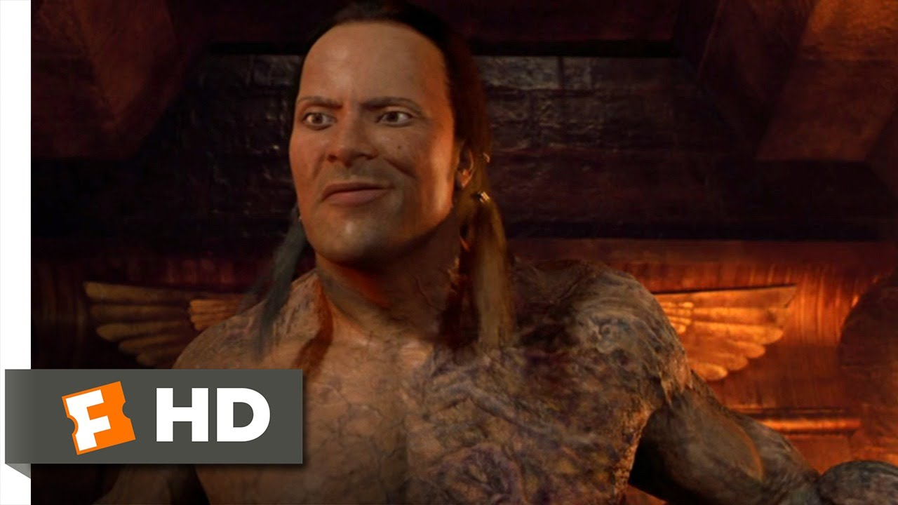 the mummy returns 1011 movie clip the scorpion king