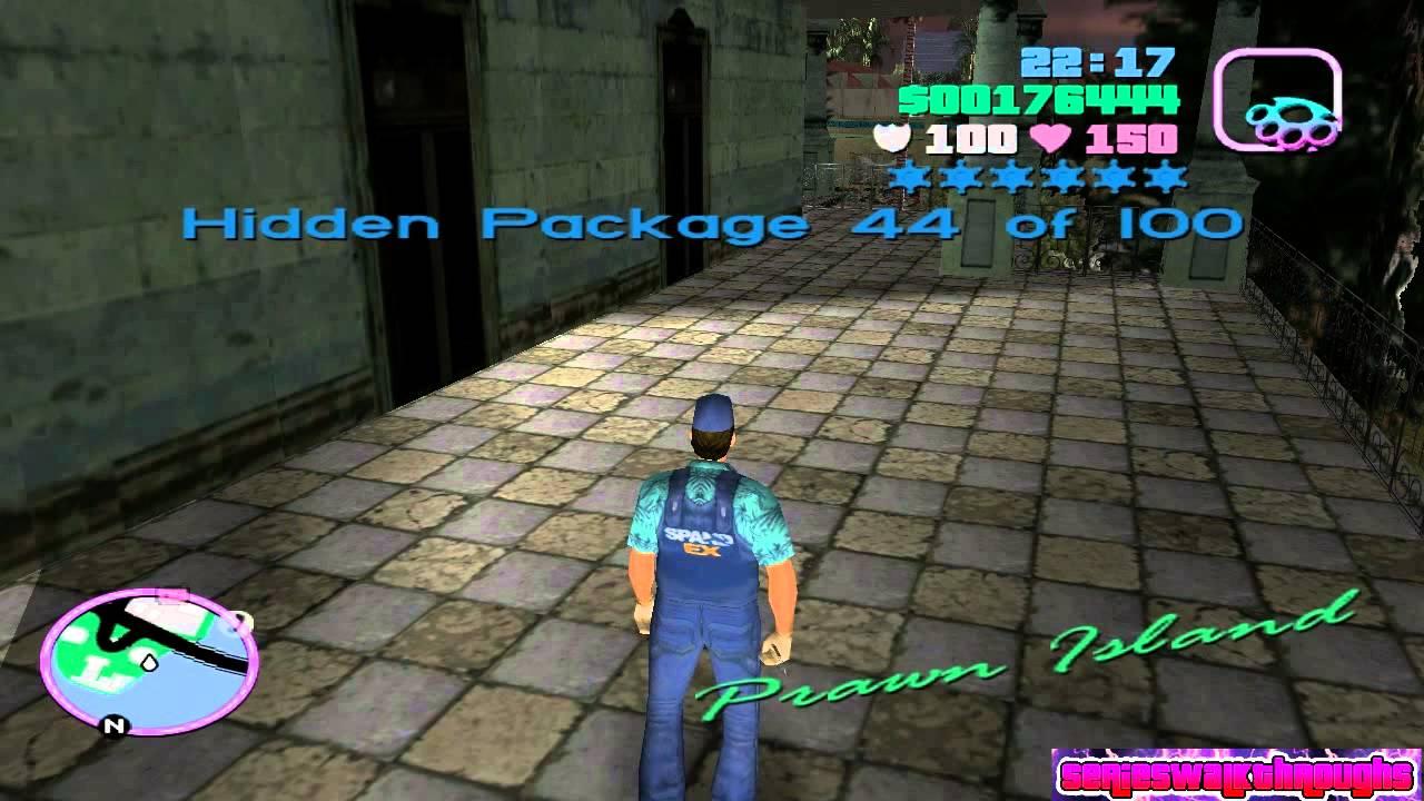 GTA Vice City - 100 Hidden Packages