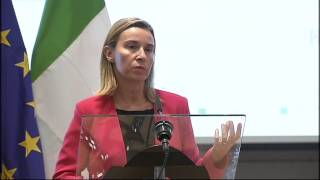 World Expo 2015   welcome speech by EP President Martin Schulz and HRVP Federica Mogherini
