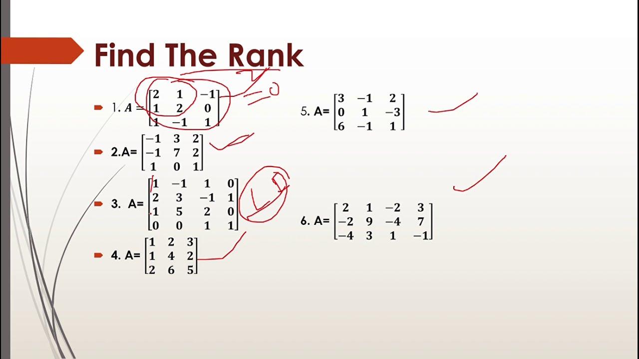 Download Rank , Nullity Range & Kernel of Matrix//Matrix part-  8//by virtual educare