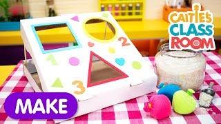 Pizza Box Bean Bag Toss | Caitie's Classroom | Craft for Kids