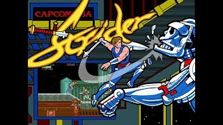 Capcom Classics Collection Vol. 2 (PlayStation 2) - Strider Game Play