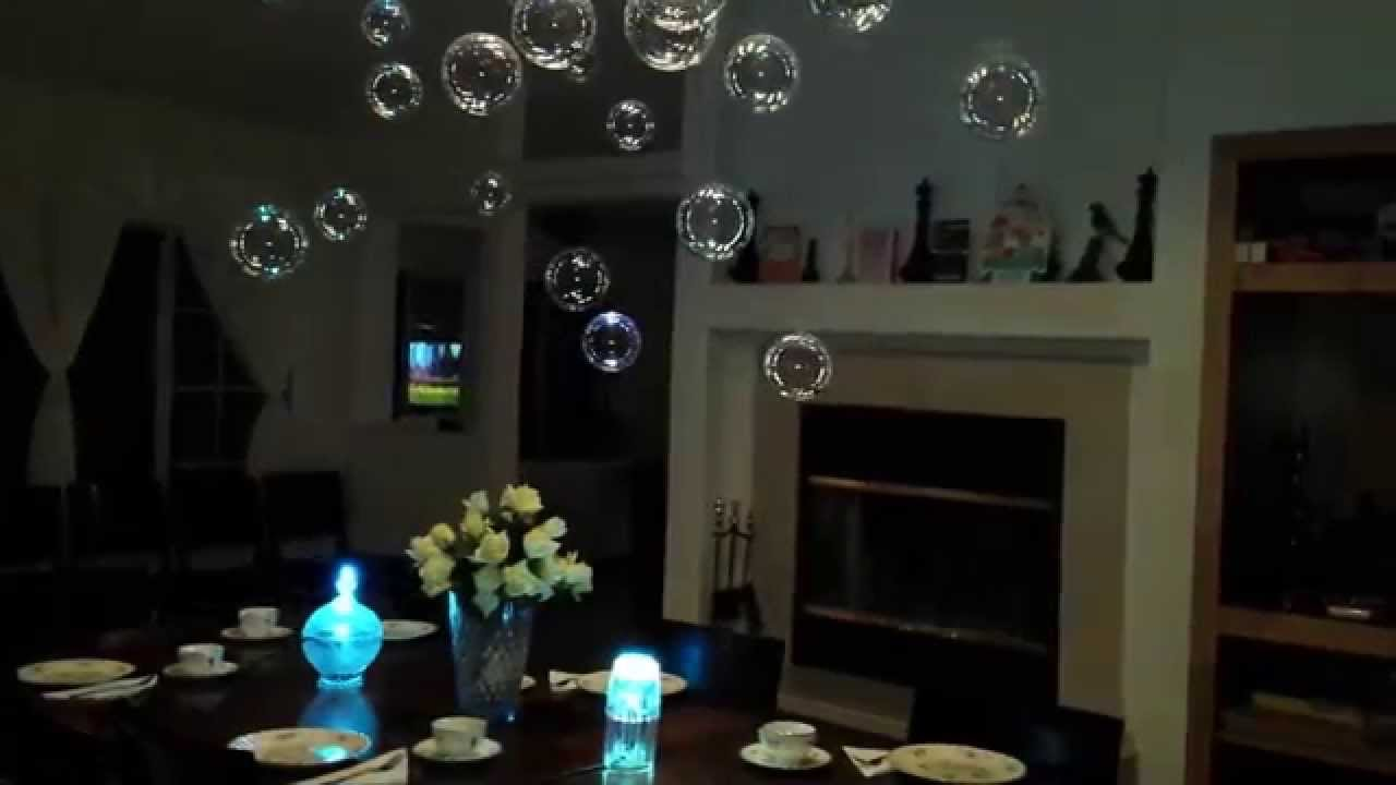 Floating Bubble Chandelier