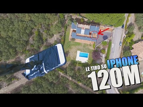 LE TIRO SU IPHONE DESDE 120 METROS DE ALTURA!! BROMA PESADA [bytarifa]
