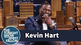 Kevin Hart Walks to Set While Dwayne Johnson Drives thumbnail