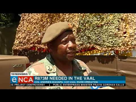 R873 million needed in the vaal