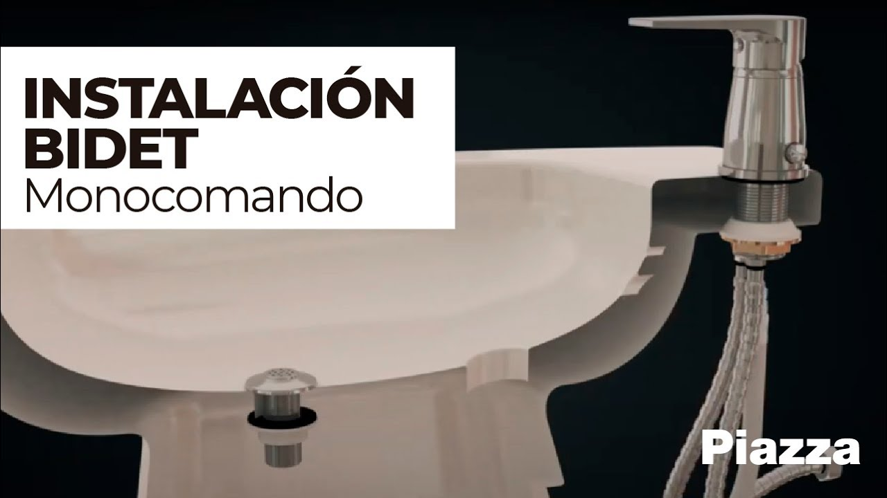 Instalaci n bidet monocomando piazza youtube for Desague bidet