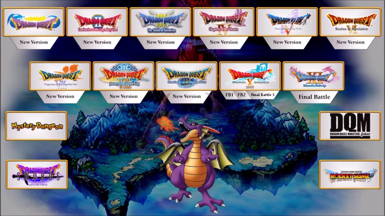 All Dragon Quest Final Boss Themes