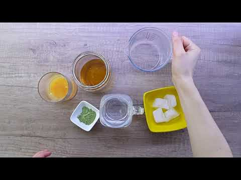 Напиток за детоксикација со спирулина/ Spirulina detox drink