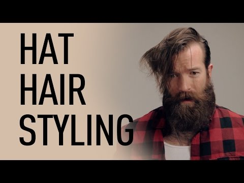 Style Your Hair For Wearing a Hat | Jeff Buoncristiano