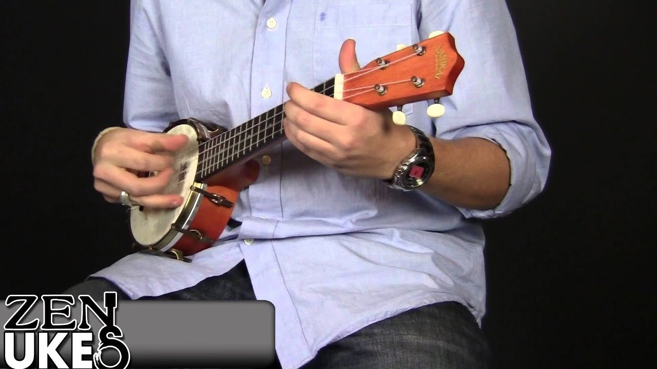 Lanikai Lb6 S Banjolele At Zenukescom Youtube