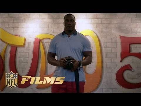 From NFL star to Artist: Takeo Spikes | NFL Films Presents