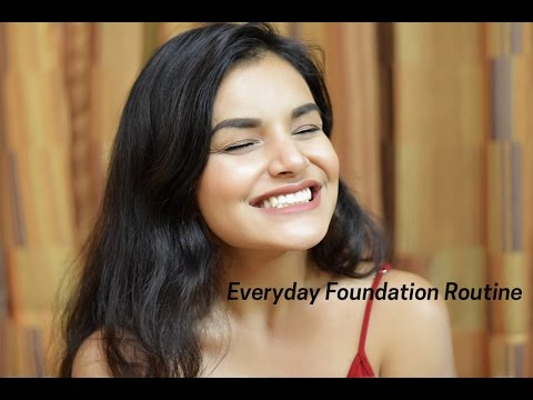 MY FOUNDATION ROUTINE | How to apply foundation