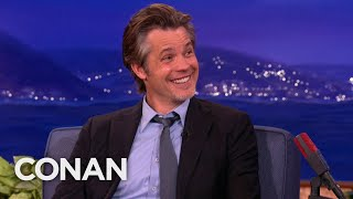 Timothy Olyphant Will Be A Weed-Smoking 007 - CONAN On TBS