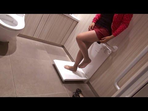 ここまでやるか?最新女子トイレ事情【ビックリ日本】
