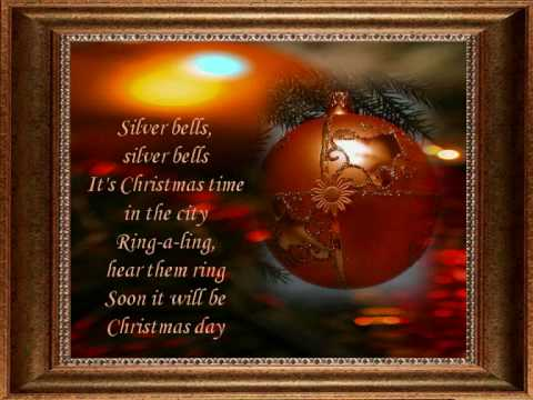 SILVER BELLS  JIM REEVES   Christmas Songs  wmv