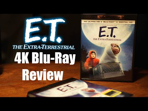 E.T. The Extra-Terrestrial 4K Bluray Review and Unboxing DTS-X