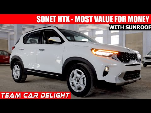 Kia Sonet HTX - Detailed Review with Price in India,Features | Sonet 2020 | Petrol,Diesel