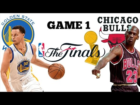 NBA 2K16: NBA Finals Simulation | '95-'96 Chicago Bulls vs. '15-'16 Golden State Warriors | Game 1