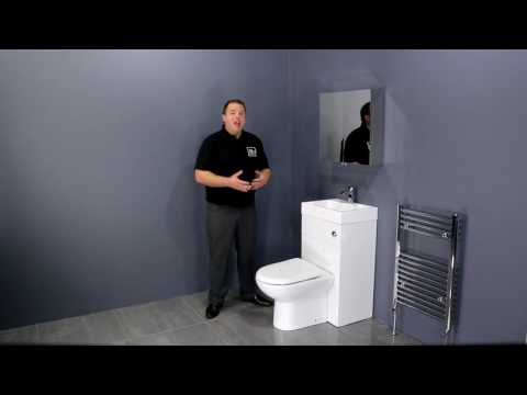 Premier Toilet with Integrated Basin - Space saving bathroom design ideas