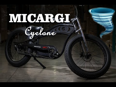 E Bike Review Micargi Cyclone Youtube