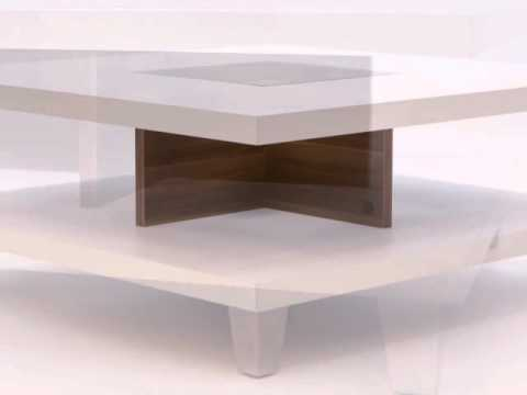 How to use Coffee Table Wooden Solid Wood White Assembly Modern Furniture Glass Storage MDF